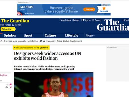 September 2013:  Madam Wokie in the Guardian Online