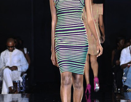 MADAM WOKIE ON THE RUNWAY AT ARISE MAGAZINE FASHION WEEK  2011