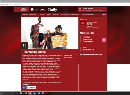 Maryann Kaikai interview with the BBC World Service Business Daily