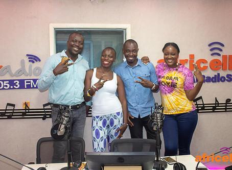 Madam Wokie & Jessica Nabongo visit Africell Radio