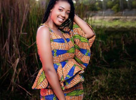 Miss Africa Sierra Leone, Harietta Alpha in Madam Wokie