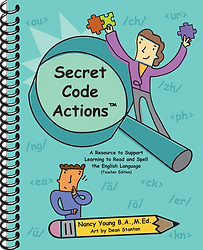 Secret Code Actions - Teacher Edition - Cover