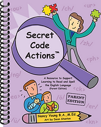 Secret Code Actions - Parent Edition - Cover