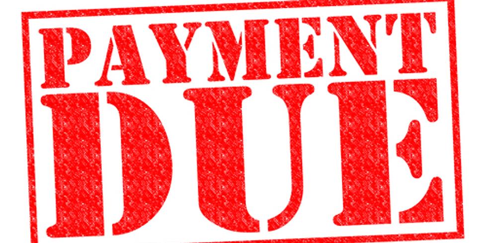 Memorial Day Retreat $75 Deposit Due