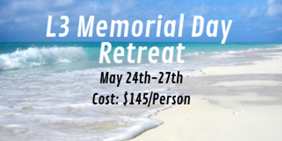 L3 Memorial Day Retreat to Ocean Isle, NC