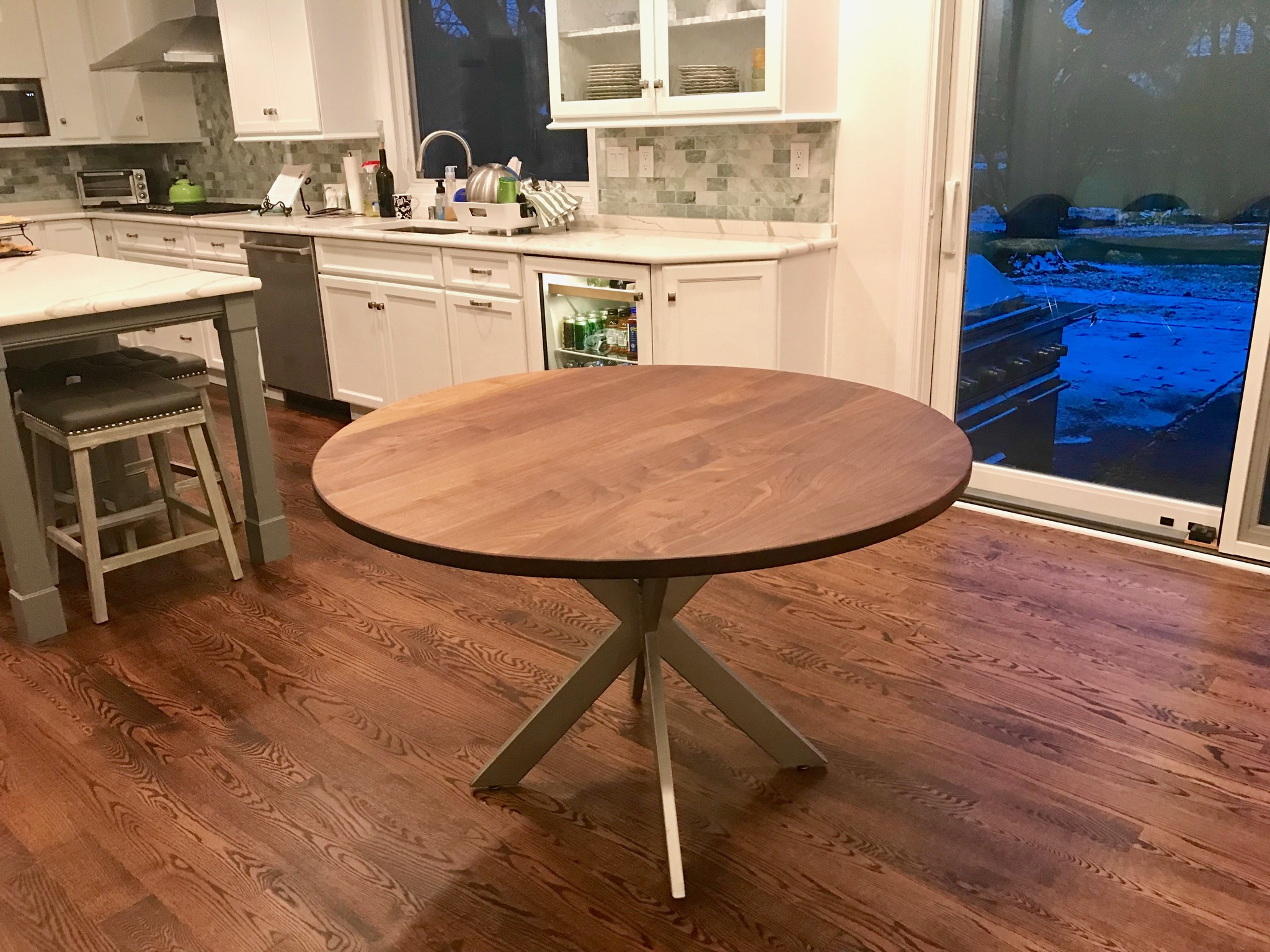 Walnut Jacks Table