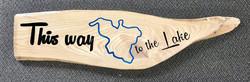 Ash Lake Sign