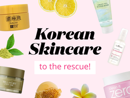 Dull, dry end of summer skin? Korean skincare to the rescue!