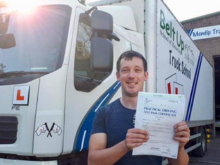 Kenneth Few took and passed his class 2 test today at the FIRST TIME attempt!