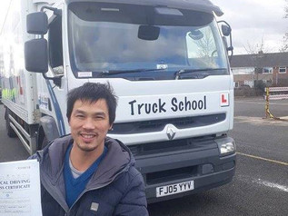 Congratulations to Dairen Chen who passed FIRST TIME! Anna Nash was trainer... Well Done!