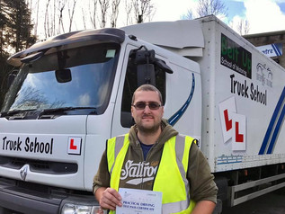 Great news for Dan Knight who took and passed his class 2 test FIRST TIME today. Mod 4 CPC on Wednes