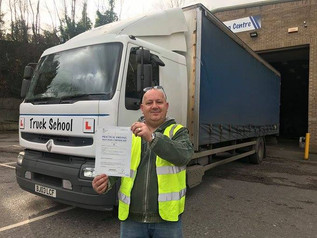 Justin Petersen passed class 2 FIRST TIME today.