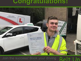 Congratulations to Ben Chamberlain!