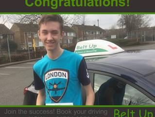 Congratulations to Joshua Harper!
