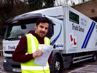 Paul Baker took and passed his class 2 test today at the FIRST TIME attempt.