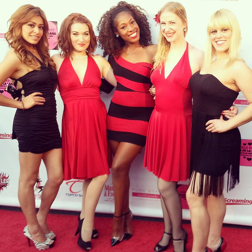 On The Red Carpet With The Dames