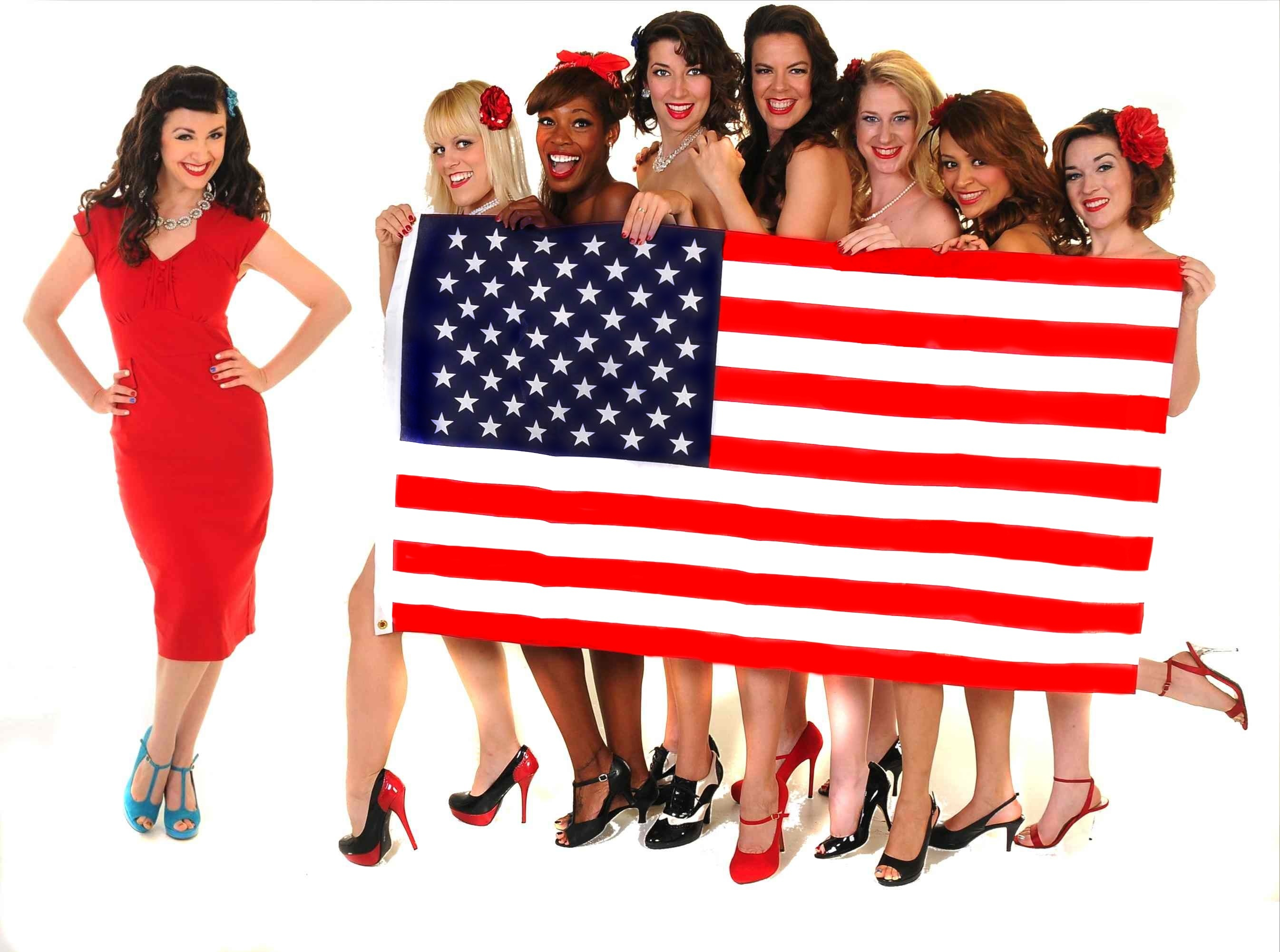 Pin-Ups for Vets & The Dames