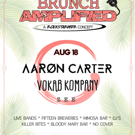Brunch Amplified (Day Party!) 8/18 at Lane Field