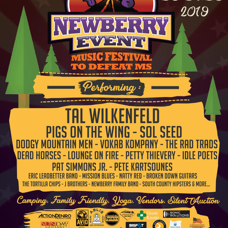 Newberry Event Music Festival July 26-28