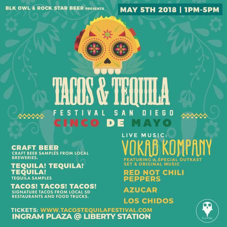 Tacos y Tequila for Cinco de Mayo in San Diego!