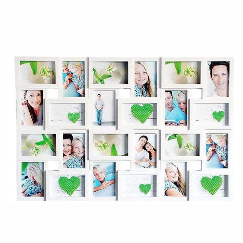 AL - Witte Collagelijst - 24 foto's - 10 x 15 cm