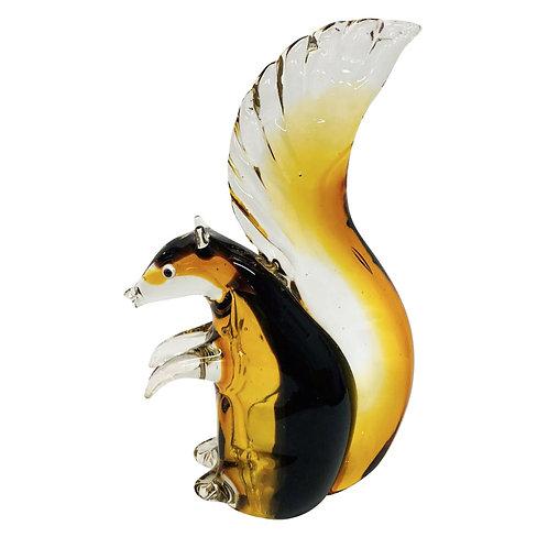 Decoratie Glas Eekhoorn