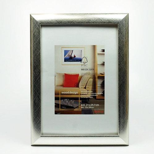 AL - Houten Zilveren Fotolijst