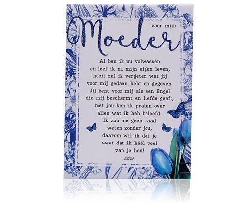 Gedichtentegel 'Voor Mijn Moeder'