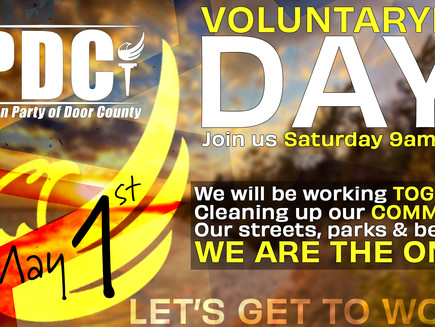 VOLUNTARYISM DAY!