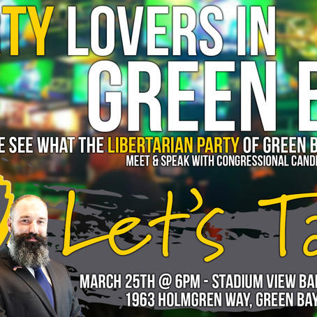 LP Green Bay/Jacob VandenPlas Meetup
