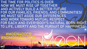 The Time for Politics...