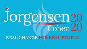 Dr. Jo Jorgensen Sign Waving in NE Wisconsin!