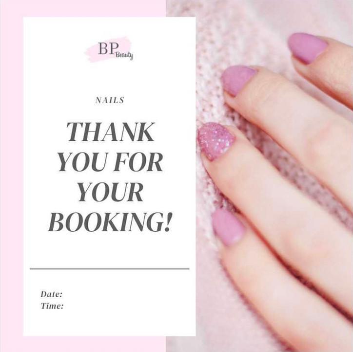 BP Beauty Booking