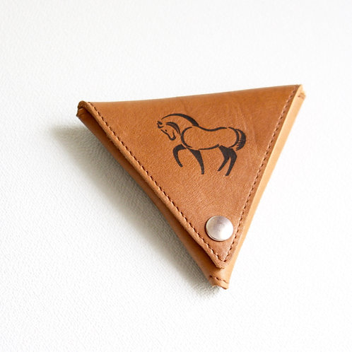 Porte-monnaie Triangle Cheval