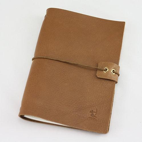 midori carnet organisateur agenda voyage dessin porte-document cuir maroquinerie Atelier Antiope©
