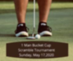 A Man Bucket Cup Scramble Tournemt Satur