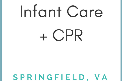 Springfield, VA - Infant Care & CPR - Weekend 1-Day