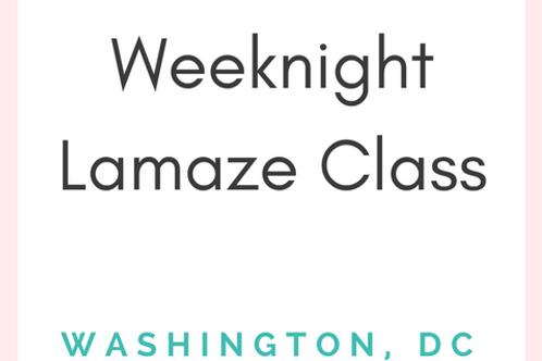 23rd St DC - Lamaze Class - Weeknight