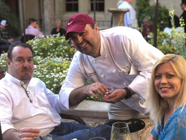 Chef with Guests on Patio.jpg