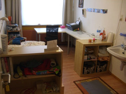 Room 9, with student's own furniture