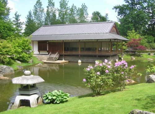 The 'Japanese garden' -5min.walk from ks51