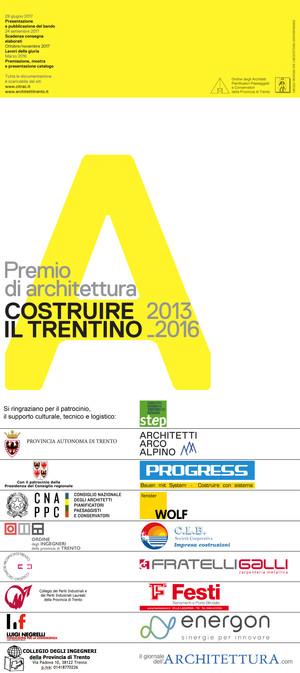 COSTRUIRE IL TRENTINO 2013_2016: CONFERENZA STAMPA