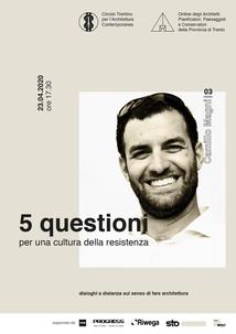 5 questioni per una cultura della resistenza