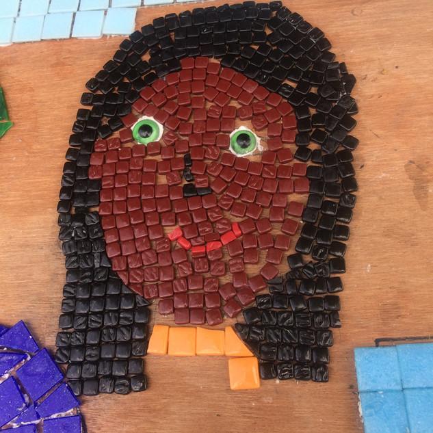 Harlands school mosaic 2018