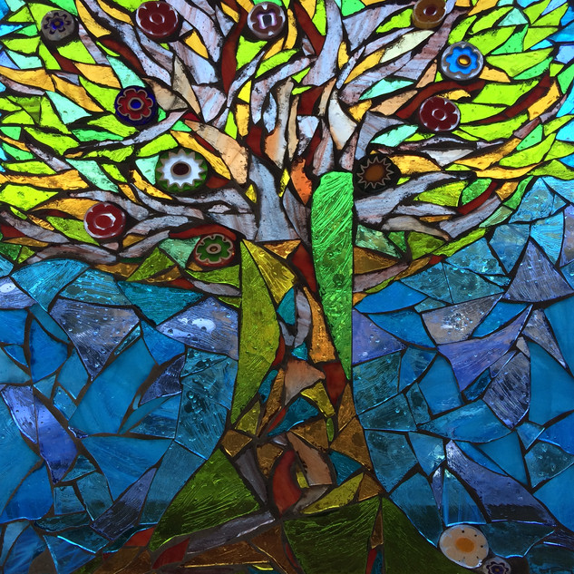 Tree of Life in glass
