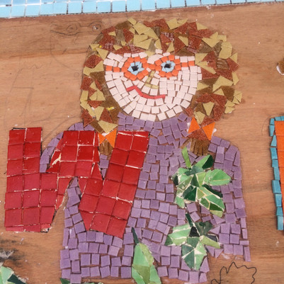 Harlands school mosaic W
