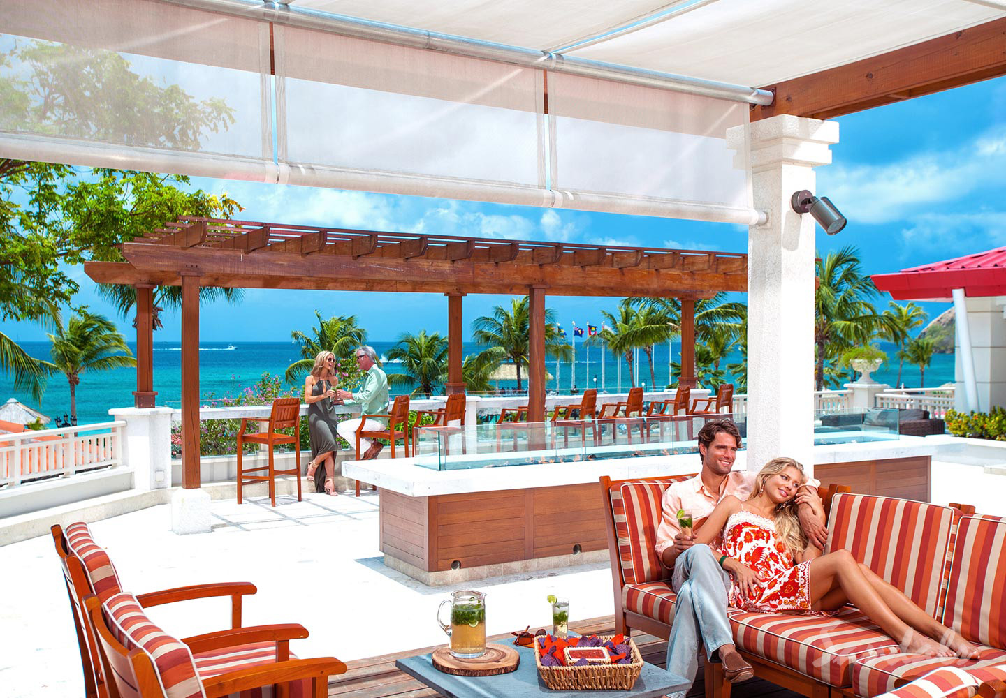 Travel Agency All-Inclusive Resort Sandals Grande St Lucian 77