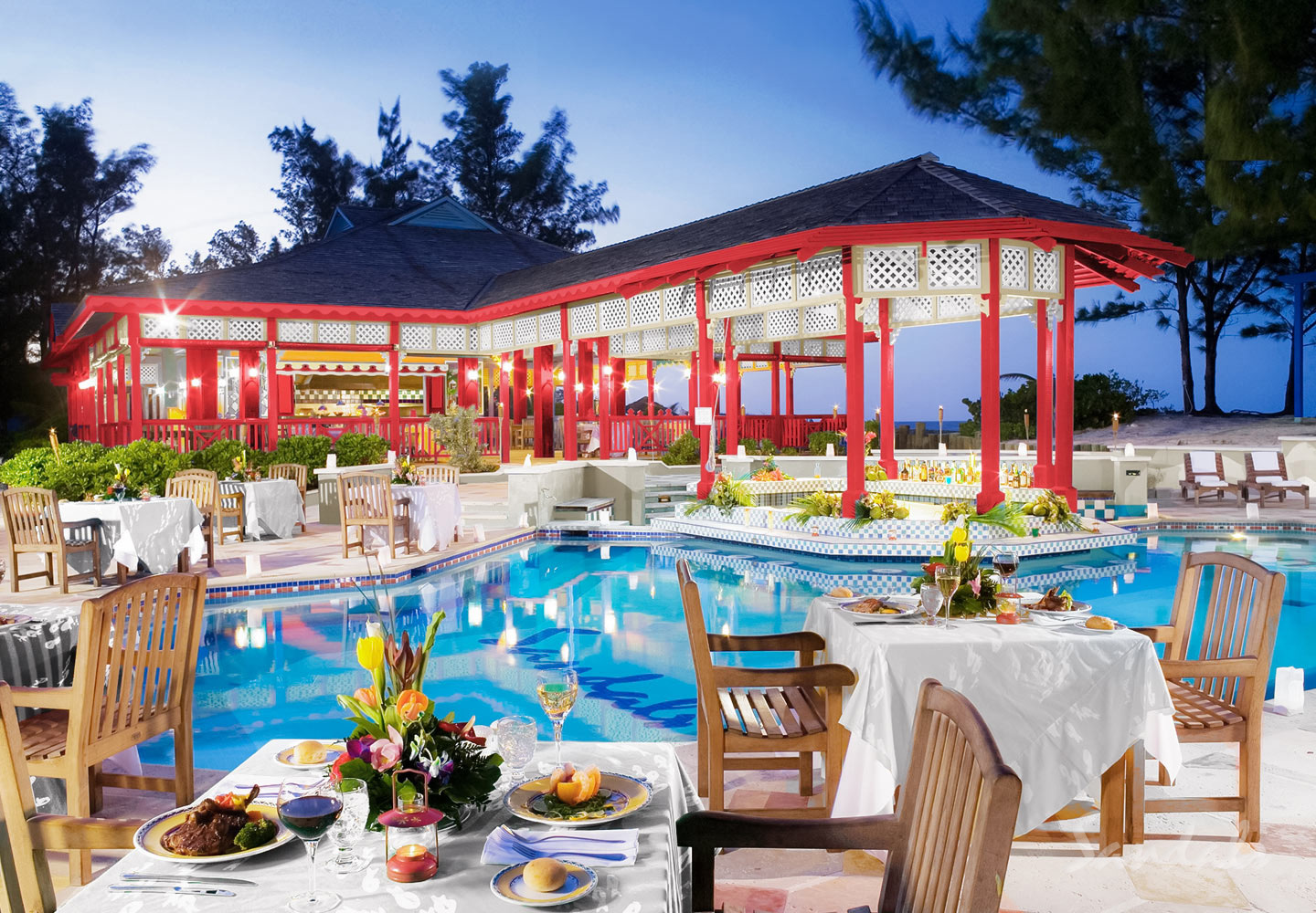 Travel Agency All-Inclusive Resort Sandals Royal Bahamian 027