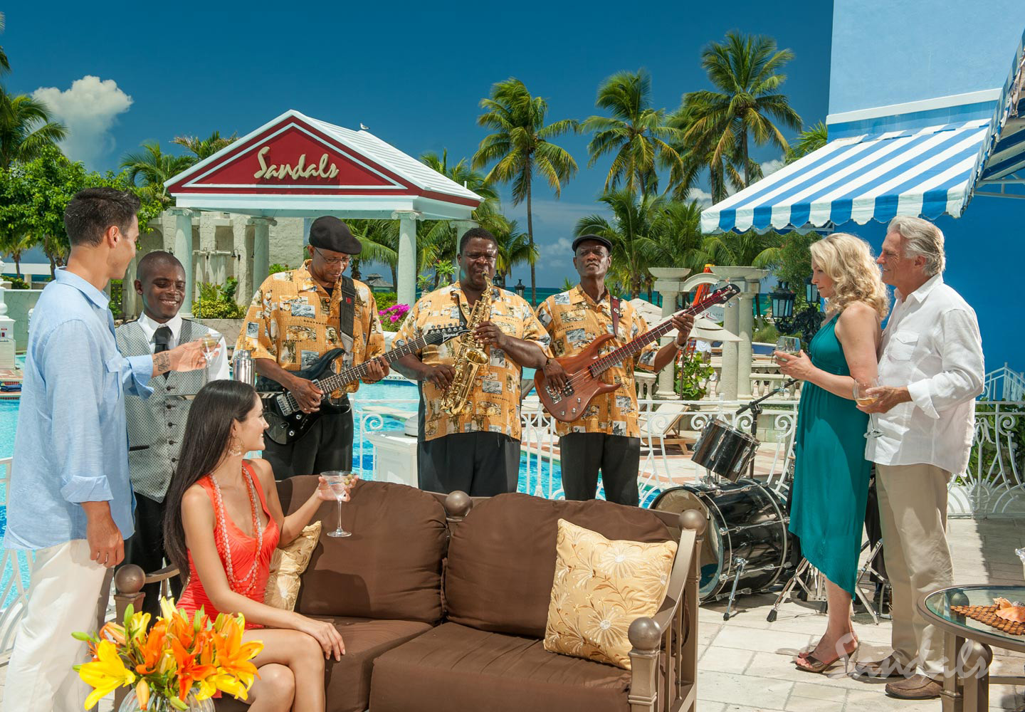 Travel Agency All-Inclusive Resort Sandals Royal Bahamian 098