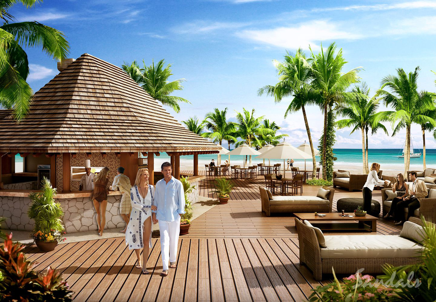 Travel Agency All-Inclusive Resort Sandals Barbados 76